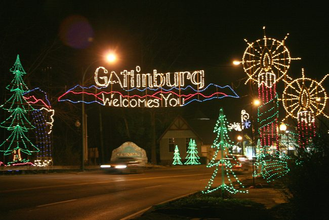 The Best Ways to See The Christmas Lights in Gatlinburg